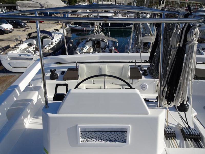 Dufour 48 Catamaran (SHU - BLUE HULL, AC+GEN., UNDERWATER LIGHTS)  - 14