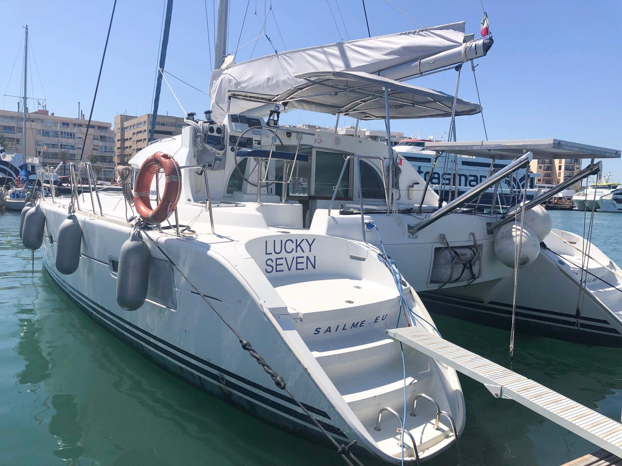 Lagoon 380 S2 (Lucky Seven (!!!from Monday, refit 2019)) Main image - 0