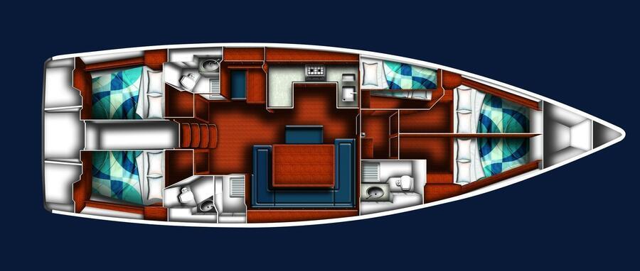 BAVARIA C 50 BT (SIRENA) Plan image - 17