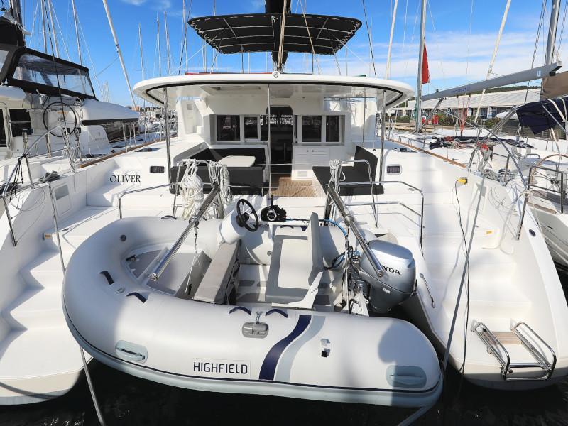 Lagoon 450 F (OLIVER AC salon + generator + watermaker + OB 20HP)  - 32