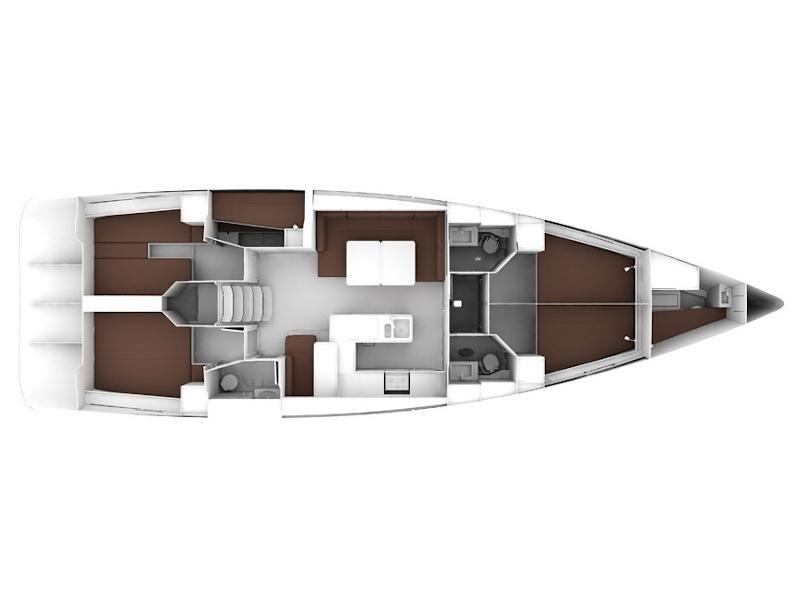 Bavaria Cruiser 56 (FAT BOY) Plan image - 74