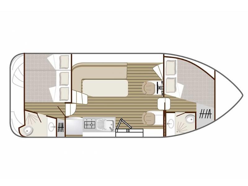 Confort 900 DP (CHEVERNY FR) Plan image - 5