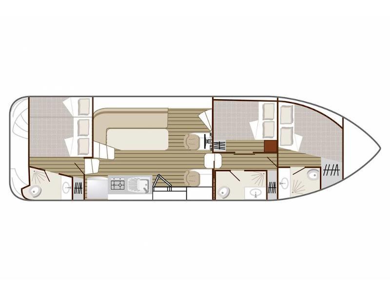 Confort 1100 (CH DE VILLENEUVE FR) Plan image - 3