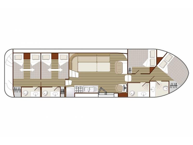 Confort 1350 B (HERIC FR) Plan image - 2