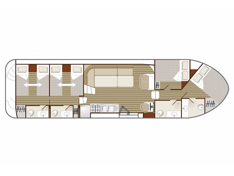 Confort 1350 B (MAGNIFICAT FR) Plan image - 2