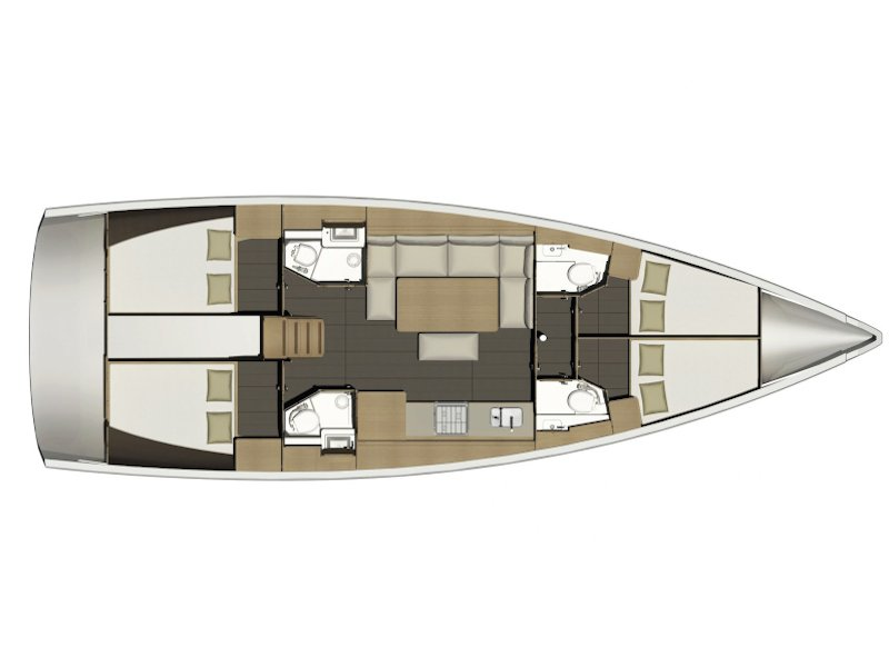 Dufour 460 (Discovery Planet) Plan image - 2