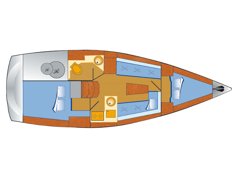 Bavaria Cruiser 33 (Chili) Plan image - 12