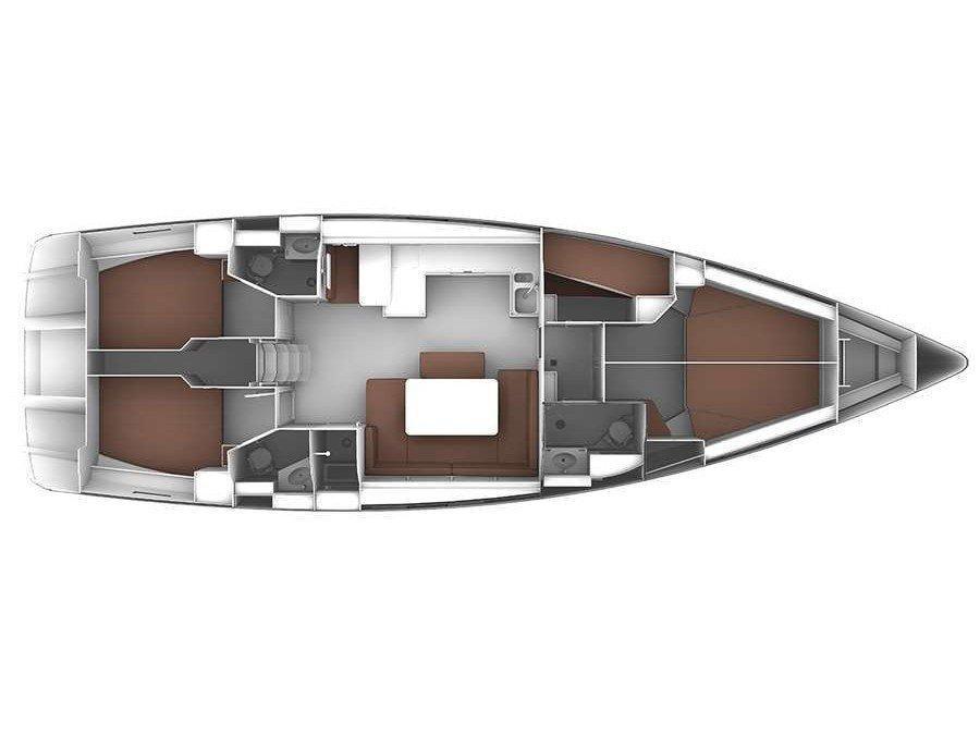 Bavaria Cruiser 51 (Leonidas IV) Plan image - 2