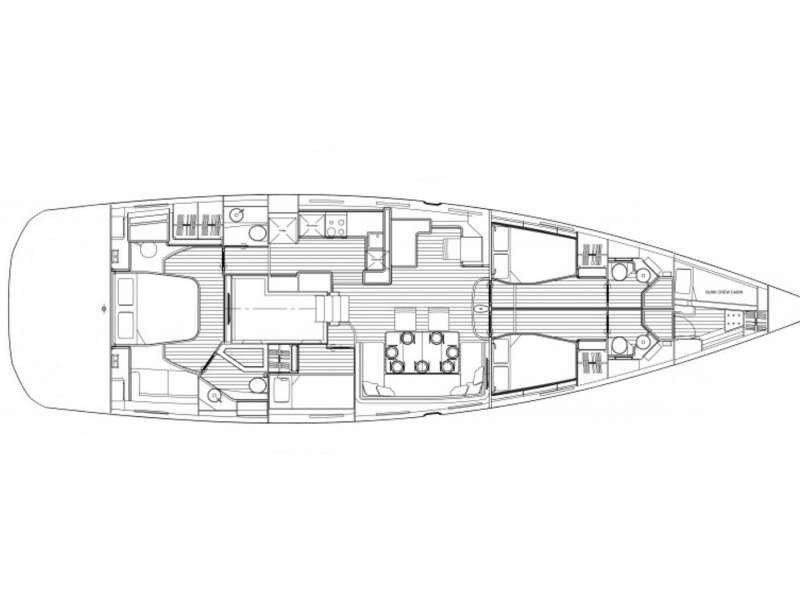 Jeanneau 64 (Aspro) Plan image - 5