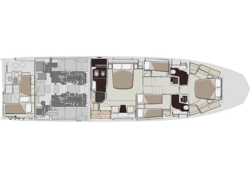 Azimut 66 Fly (Tamara II) Plan image - 11