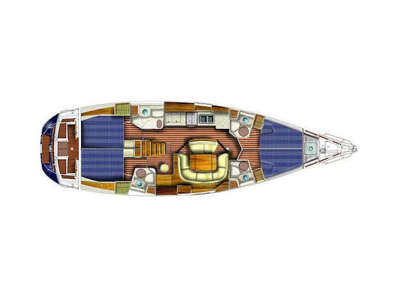 Sun Odyssey 49 (ANAX) Plan image - 25