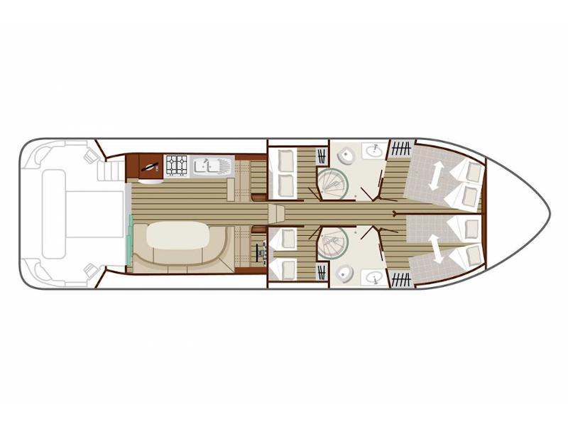 Estivale Octo (ST HILAIRE FR) Plan image - 2