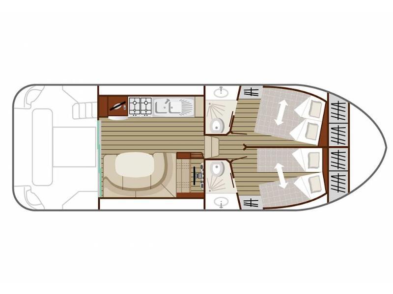 Estivale Quattro B (CH DE FLARAN FR) Plan image - 5