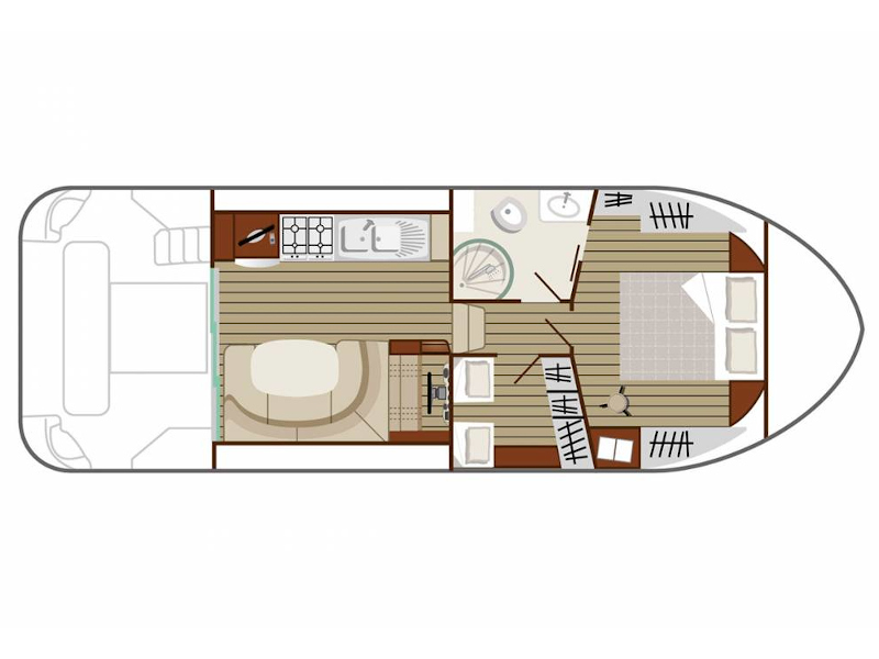 Estivale Quattro S (CHEVIGNY FR) Plan image - 2