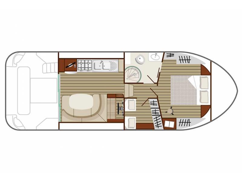 Estivale Quattro S (ST PAPOUL FR) Plan image - 6