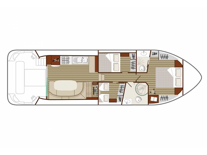Estivale Sixto (ARZENS FR) Plan image - 3