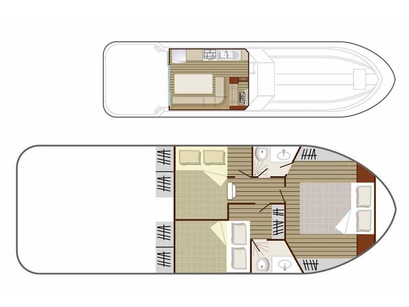 Sedan 1000 (PIRIAC FR) Plan image - 3