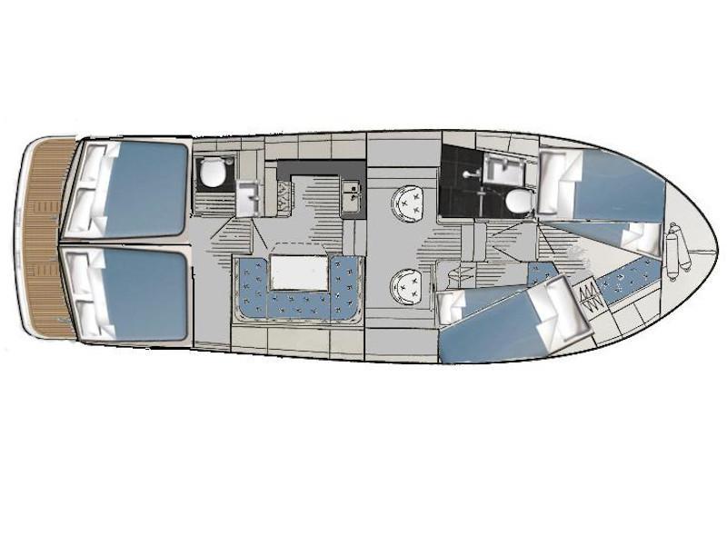 Naviga Nordica T 40 (Caspian af Vadstena) Plan image - 4
