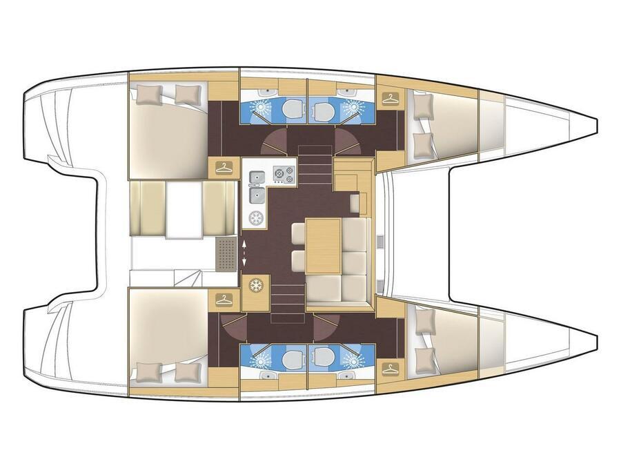 Lagoon 39 (Lagoon 39) Plan image - 7