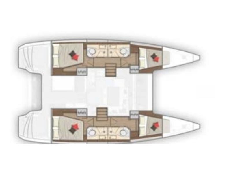 Lagoon 40 (Geo) Plan image - 4