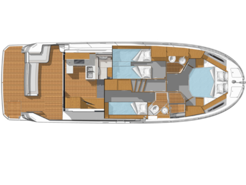 Swift Trawler 41 (Ben ) Plan image - 1
