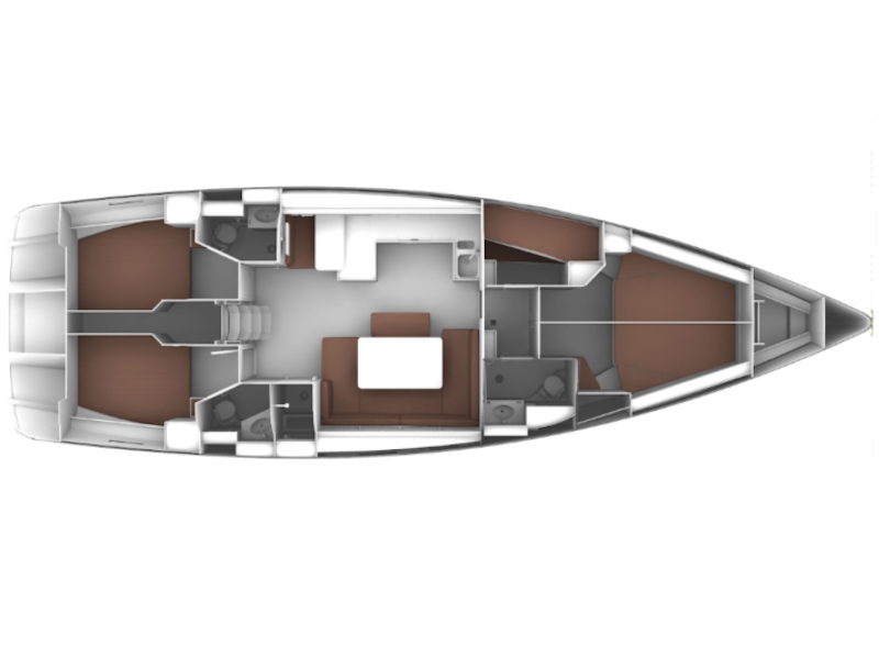 Bavaria Cruiser 51 (Alissa) Plan image - 7