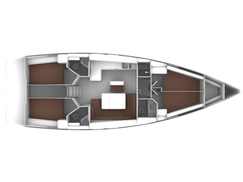 Bavaria Cruiser 46 (Amelva) Plan image - 6