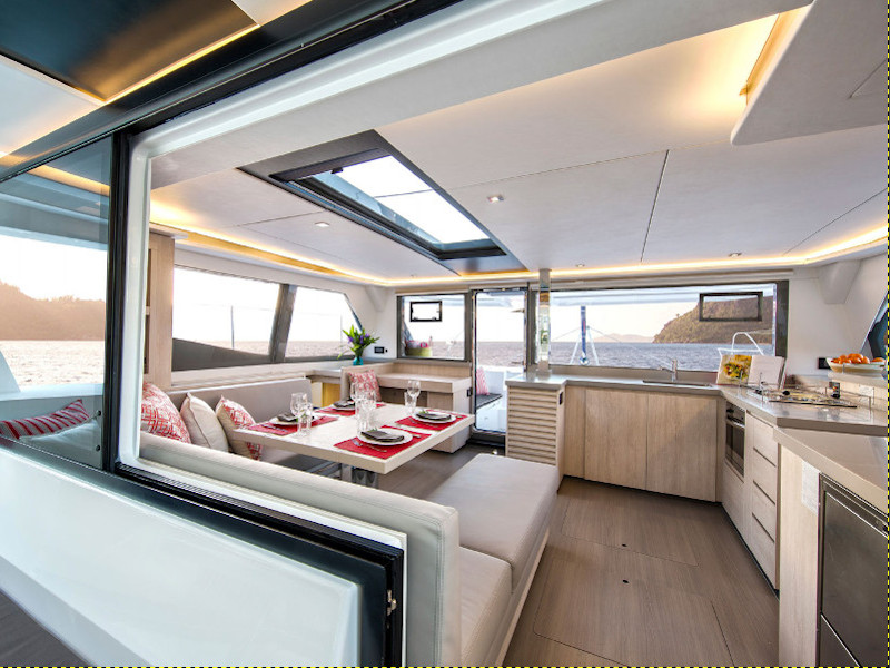 Leopard 45 (Prince Frederick) Interior image - 2