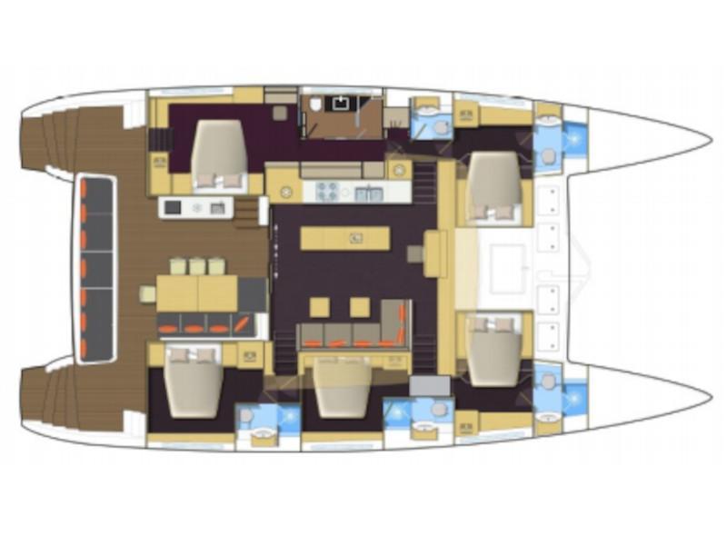 Lagoon 620 (PRES- L62-21-F) Plan image - 1