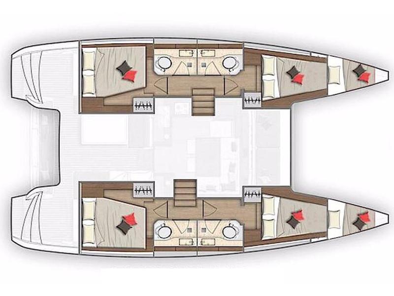 Lagoon 40 (El Paso) Plan image - 10