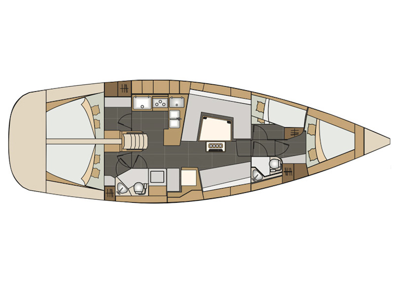 Elan 45 Impression (Adelyna) Plan image - 2