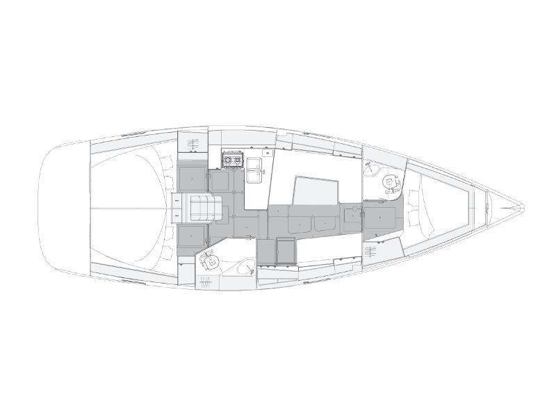 Elan Impression 40.1 (Rixos) Plan image - 15
