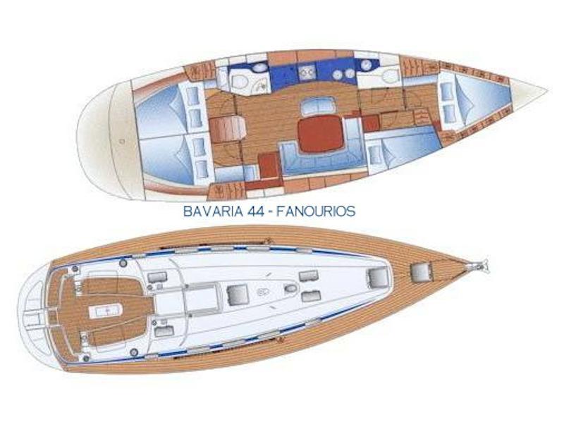 Bavaria 44 (Fanourios) Plan image - 2