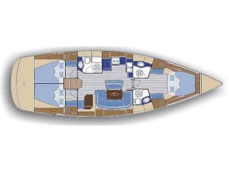 Bavaria 46 Cruiser-3 (Barbados) Plan image - 1