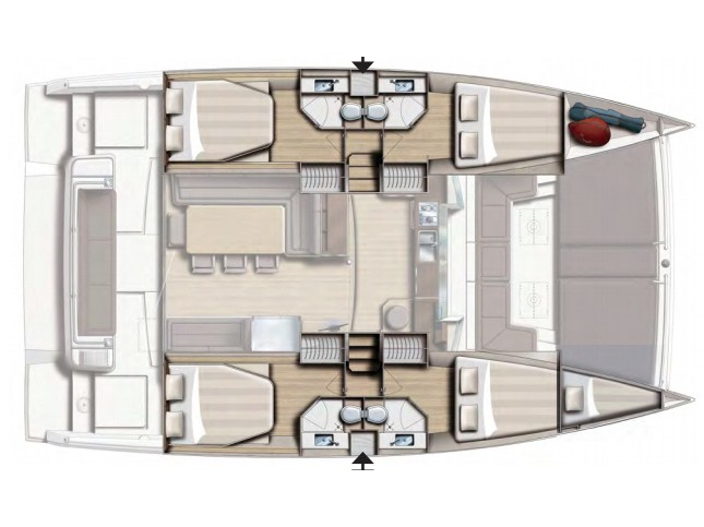 Bali 4.3 Salerno (FASTEAM ONE) Plan image - 5