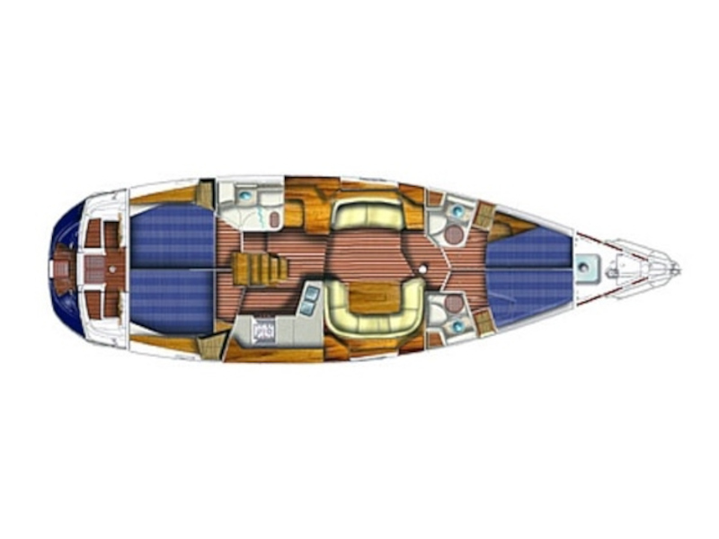 Sun Odyssey 49DS (EVITA) Plan image - 2