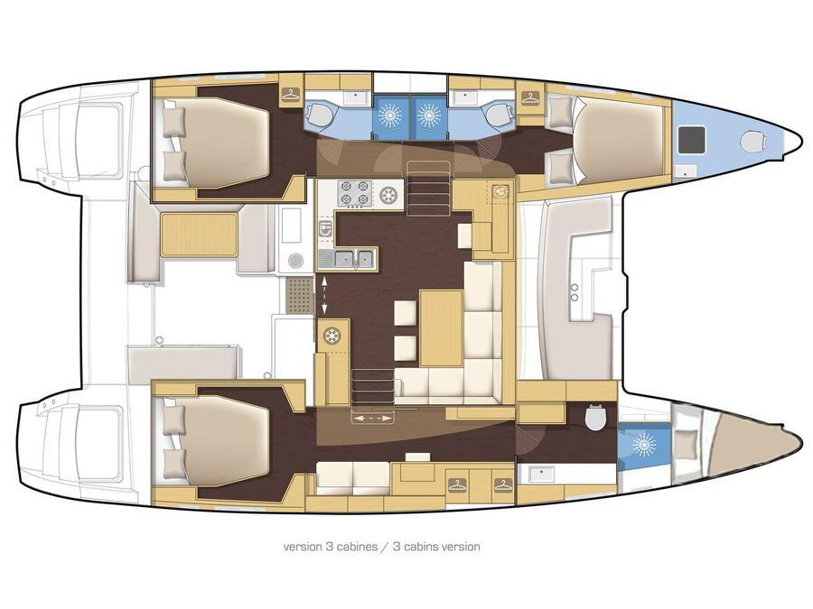 Lagoon 450 (ANNA) Plan image - 11