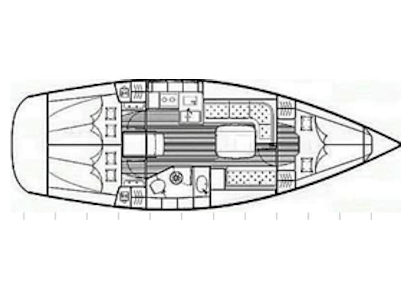 Bavaria 35 Cruiser (Salsa) Plan image - 1