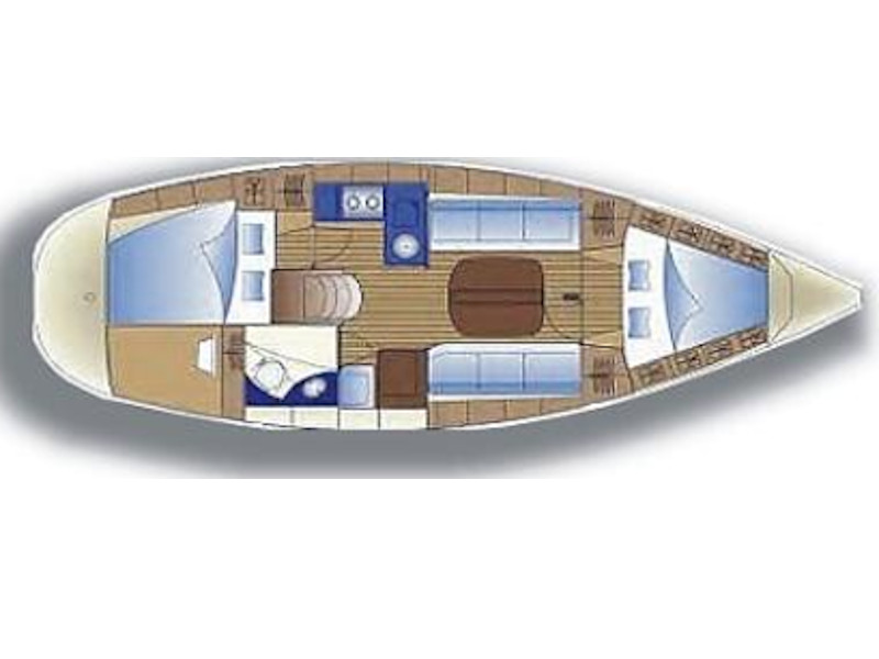 Bavaria 32 (Wally) Plan image - 1