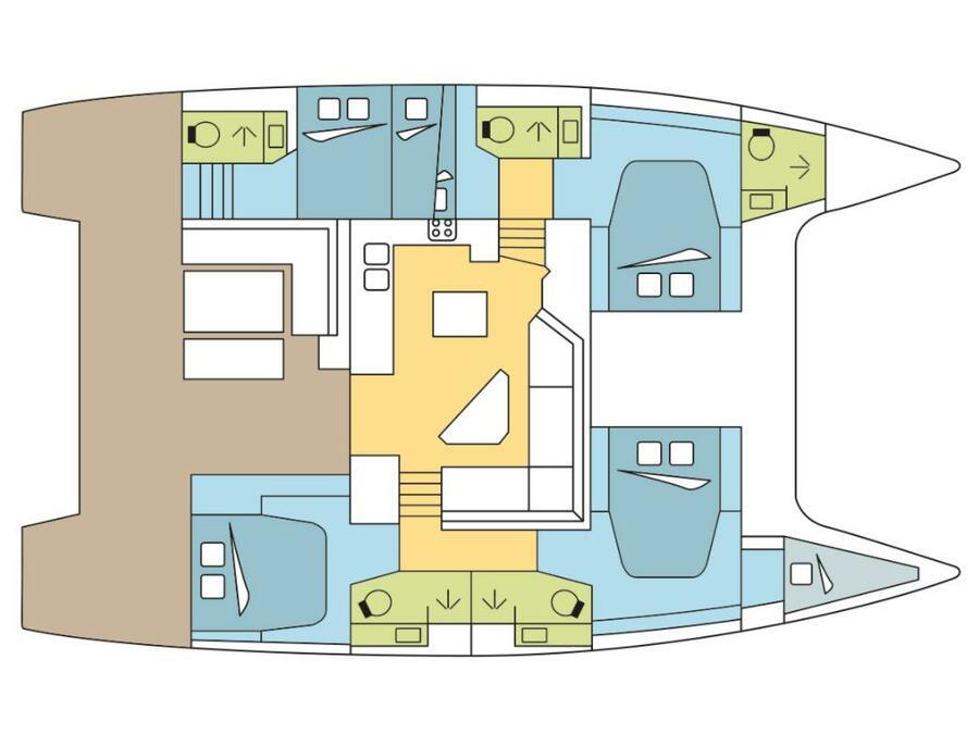 Saona 47 (PALISSANDRE) Plan image - 2