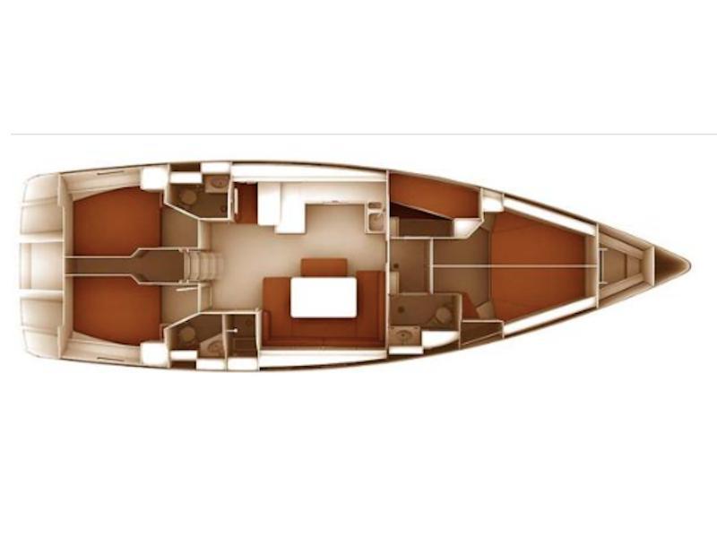 Bavaria 51 Cruiser (MARIE) Plan image - 4