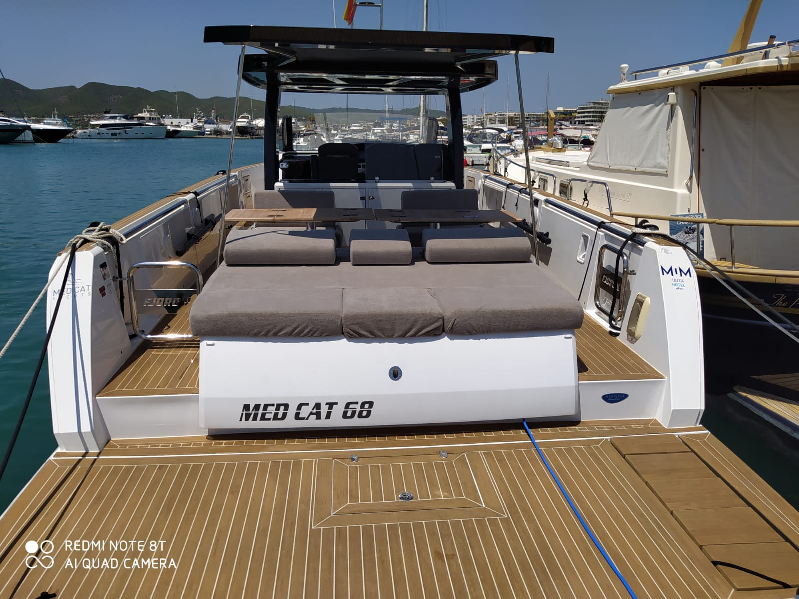 Fjord 44 Open (MEDCAT68 Available for daily charter only - From 10:00 to 20:00 - 0 night)  - 16