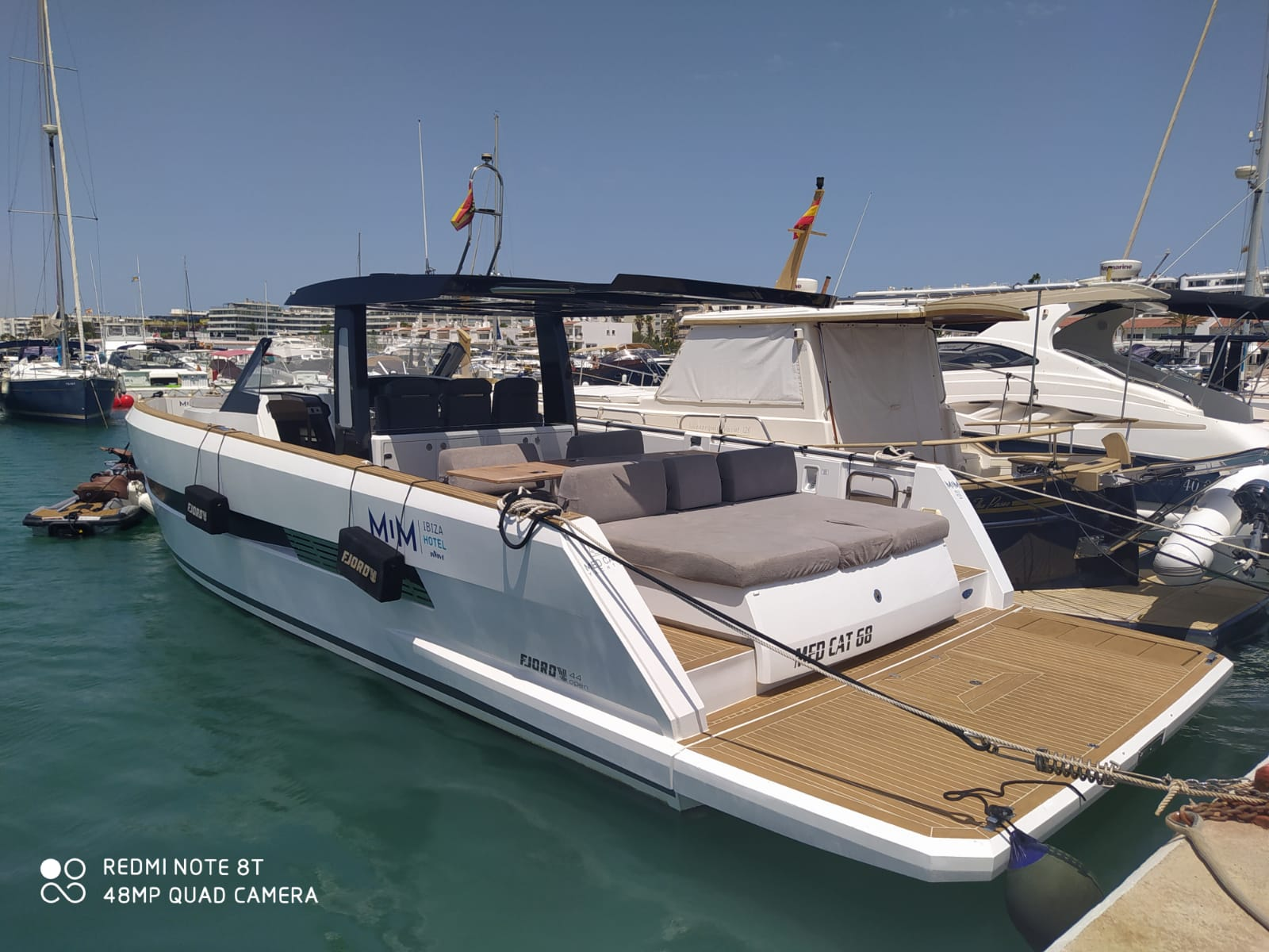 Fjord 44 Open (MEDCAT68 Available for daily charter only - From 10:00 to 20:00 - 0 night)  - 10