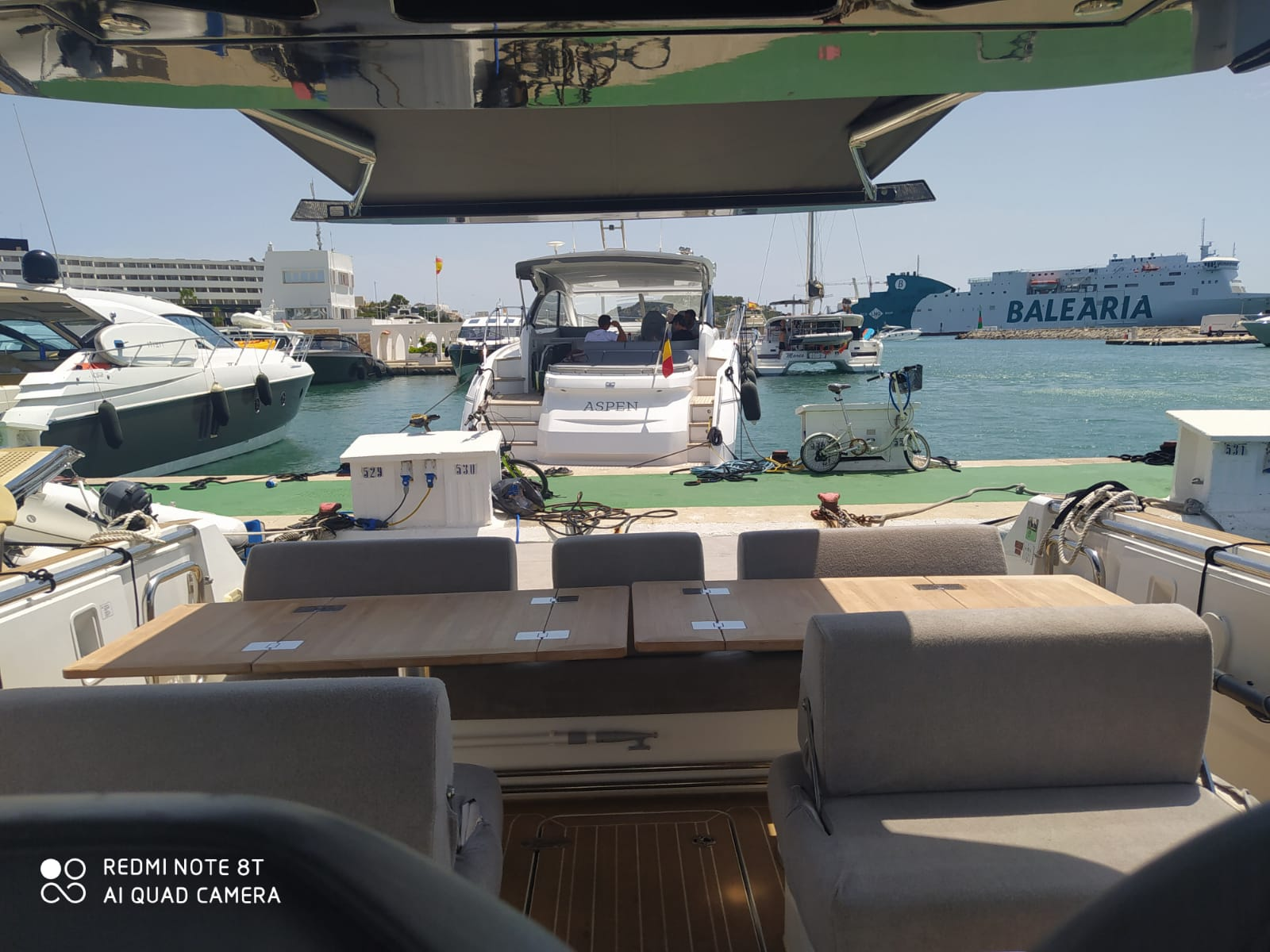 Fjord 44 Open (MEDCAT68 Available for daily charter only - From 10:00 to 20:00 - 0 night)  - 14