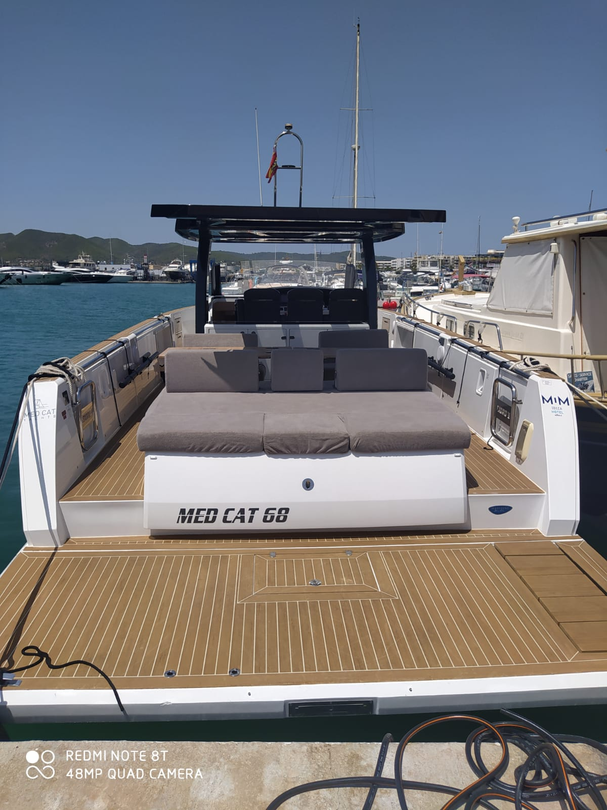 Fjord 44 Open (MEDCAT68 Available for daily charter only - From 10:00 to 20:00 - 0 night)  - 17