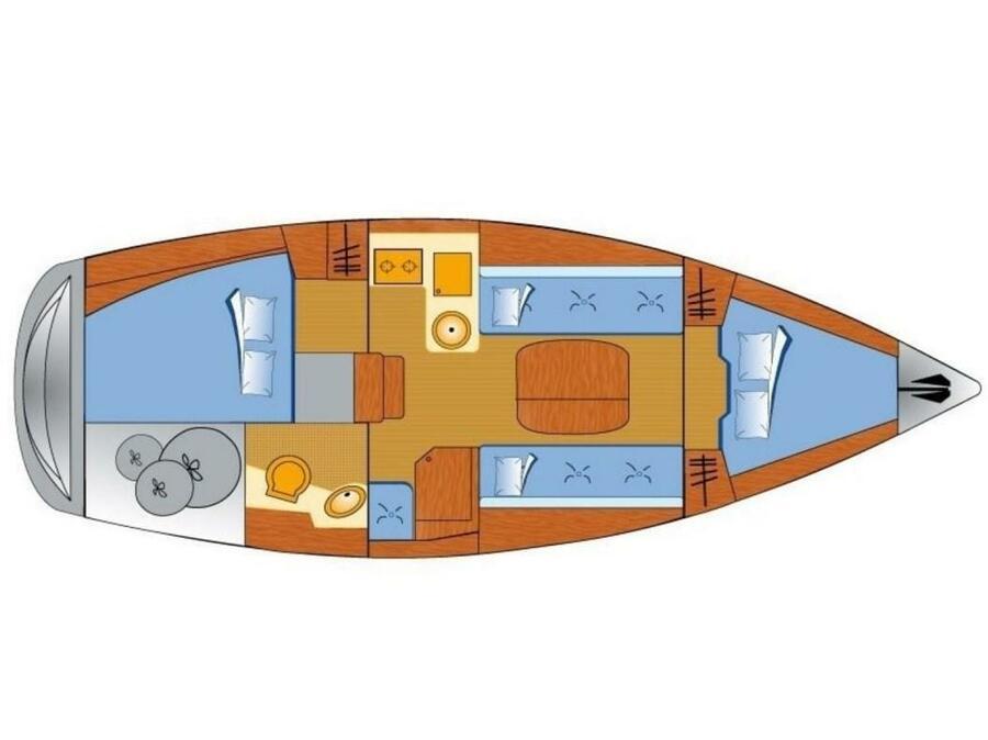 Bavaria 31 Cruiser (Free Spirits) Plan image - 6