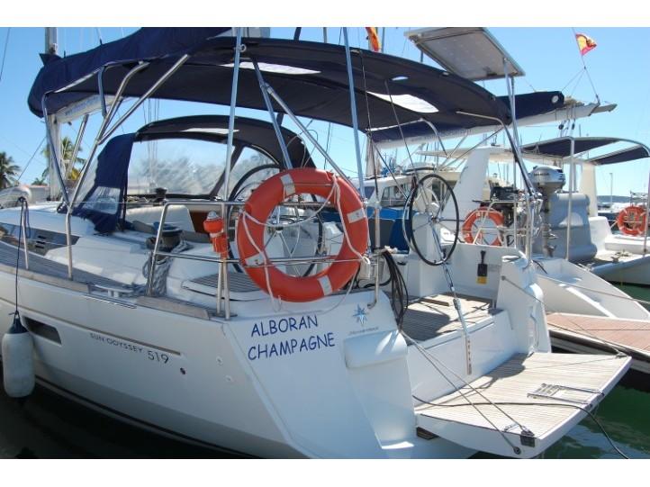 Sun Odyssey 519 (Alboran Champagne (Majorca)) Main image - 0