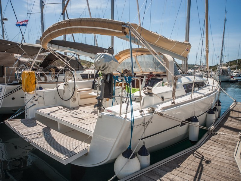 Dufour 410 Grand Large (MISTRAL new sails 2018) Main image - 0