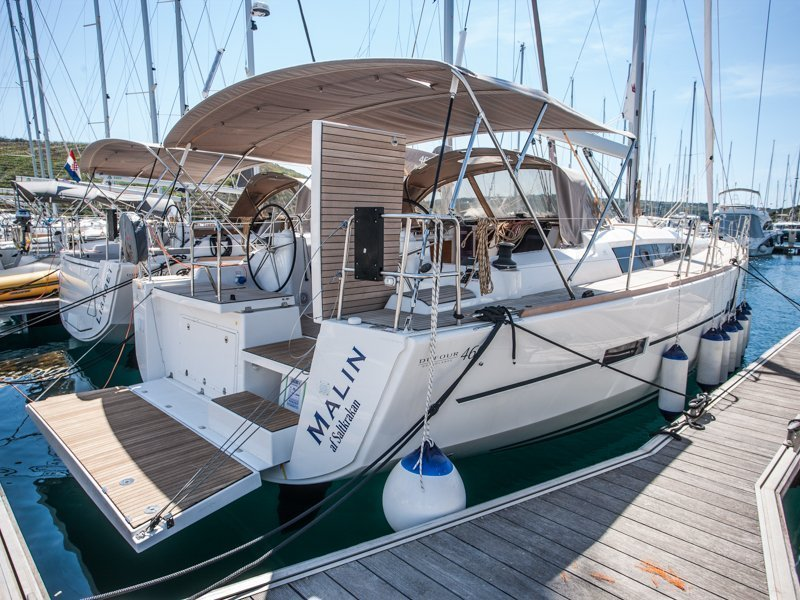Dufour 460 Grand Large  (MALIN OV 2018+AC+G)  - 21