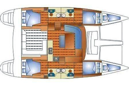 Lagoon 440 (Kit Kat) Plan image - 24